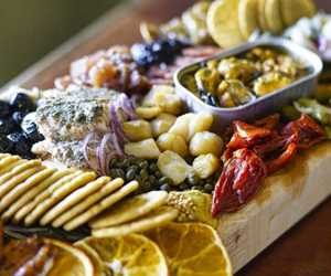 Our seacuterie platters make the gathering even more perfect, even if it's just for two.